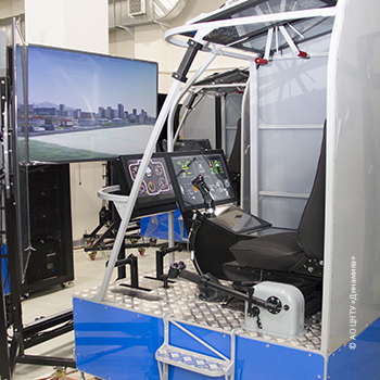 CSTS Dinamika builds Russia's first multipurpose simulator complex for initial flight training