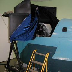 MiG-29 Full Mission Simulator (RAC MiG Engineering Center)